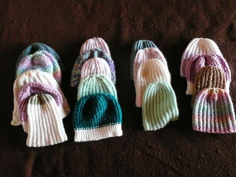 Preemie Caps